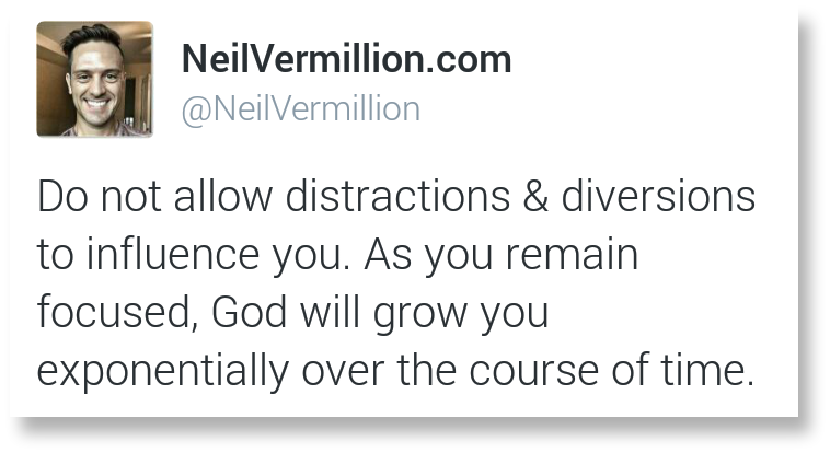daily prophetic word caption